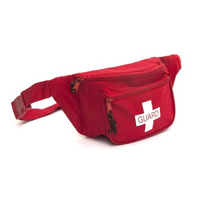 Kemp USA: Fanny Pack with Lifeguard Screenprint