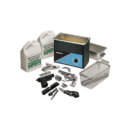 L&R Ultrasonics Q210 Quantrex Handgun Cleaning System, Complete Set-Up
