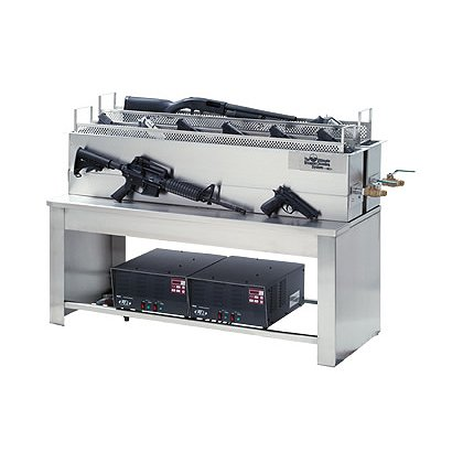 L&R Ultrasonics LE-250 Weapon Cleaning System, Complete Set-up