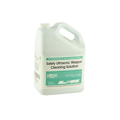 L&R Ultrasonics Weapon Cleaning Solution Concentrate, Non-Ammoniated, 1 Gallon