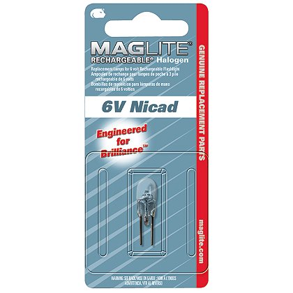 Maglite: Mag Charger Rechargeable Flashlight System Replacement Halogen Lamp