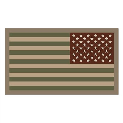 MIL-SPEC Monkey: US Flag - Reversed
