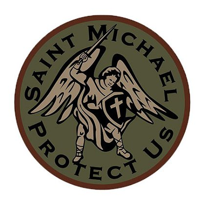 MIL-SPEC Monkey Saint Michael