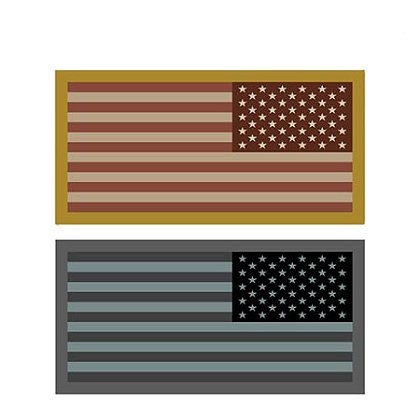 MIL-SPEC Monkey: US Flag Mini - Reversed