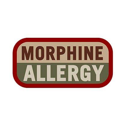 MIL-SPEC Monkey: Morphine Allergy