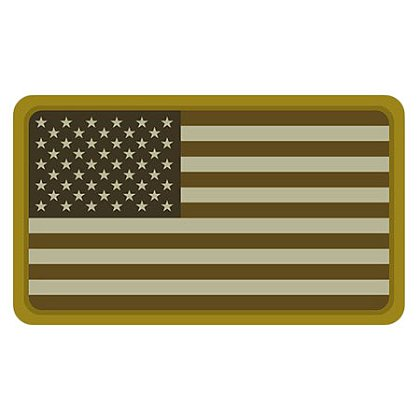 MIL-SPEC Monkey US Flag PVC