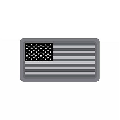 MIL-SPEC Monkey Mini US Flag PVC