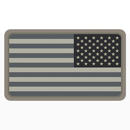 MIL-SPEC Monkey: US Flag PVC - Reversed