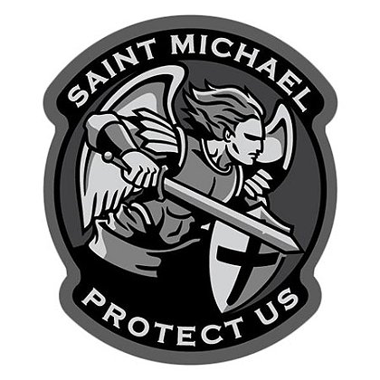 MIL-SPEC Monkey Saint Michael – Modern Design
