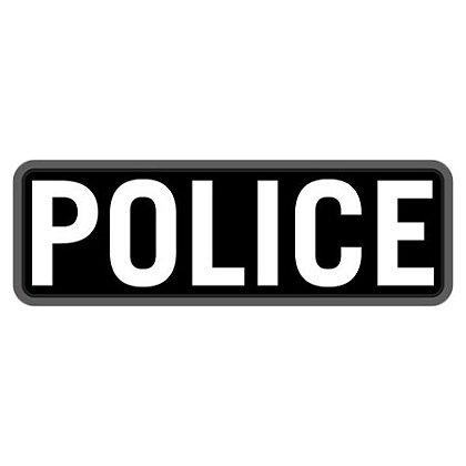 """MIL-SPEC Monkey 6"""" x 2"""" POLICE PVC"""