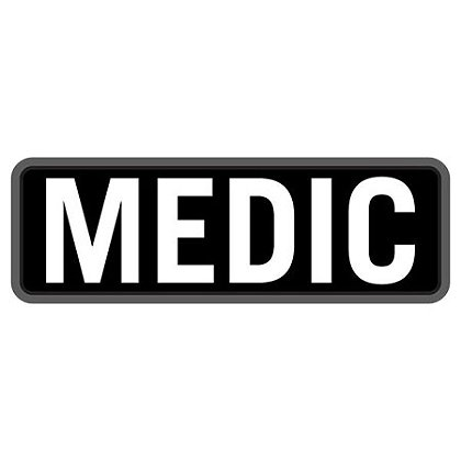 "MIL-SPEC Monkey 6"" x 2"" Medic PVC"
