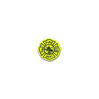 TheFireStore: Maltese Cross Scotchlite Reflective Decal