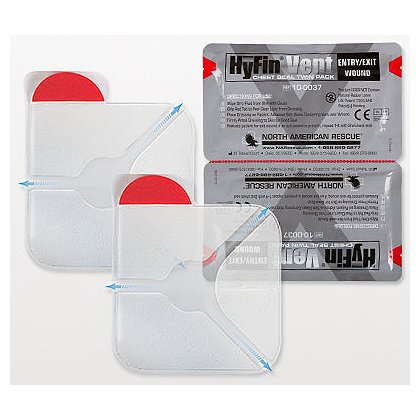 N.A. Rescue Twin Pack of Latex Free HyFin Adhesive 6
