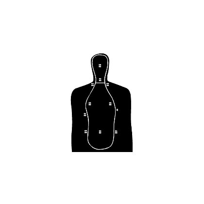 National Target: Law Enforcement Silhouette, South Carolina Training 34