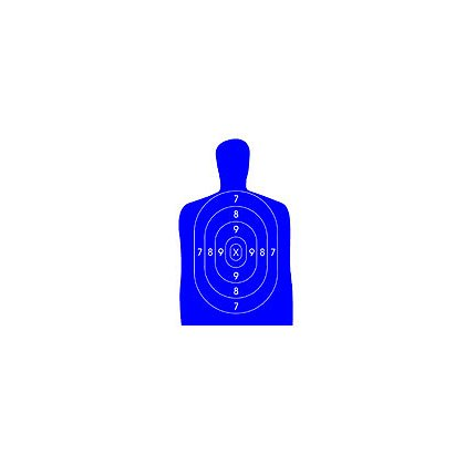 National Target : Law Enforcement Silhouette, 50 Yard, 22.5
