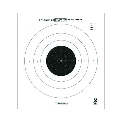 National Target Official NRA Competition Targets- Pistol