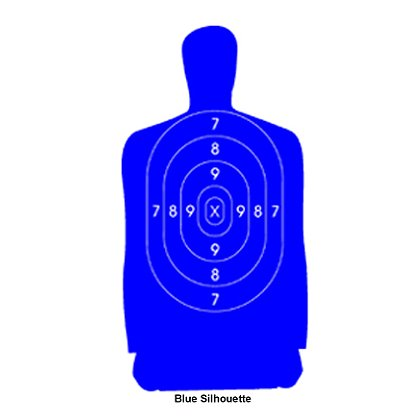 National Target: Law Enforcement Silhouette, 50 Yard, 35