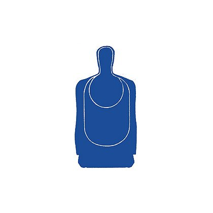 National Target: Law Enforcement Silhouette, Texas State Qualifying 24