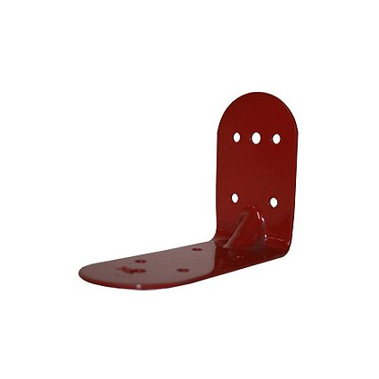 Zico: NCM-BR Zico: Red PVC Coated Bracket for Neoprene Cup Mounts