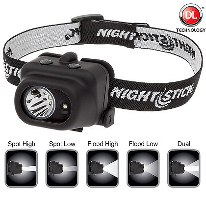 NIGHTSTICK: Multi-Function LED Headlamp