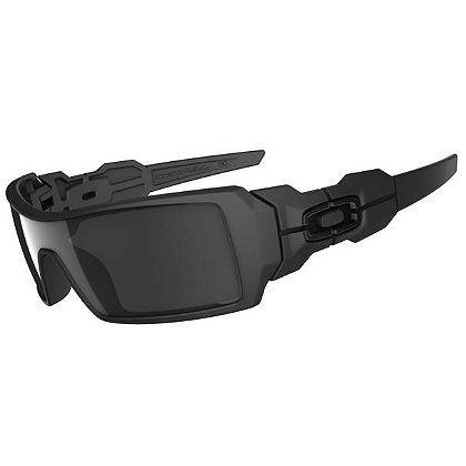 Oakley Oil Rig Sunglasses, Matte Black Frames & Black Iridium Lenses