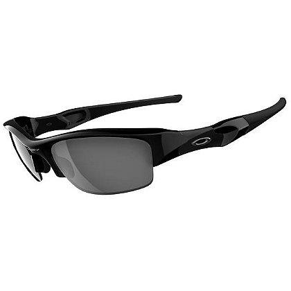 Oakley: Women's Flak Jacket Sunglasses, Jet Black Frame