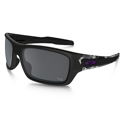 Oakley: SI Infinite Hero Turbine Digital Camo with Black Iridium Lenses