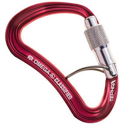 Omega Tephra Trapwire Quik-Lok NFPA Carabiner