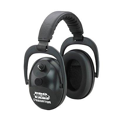 Pro Ears Predator 300 Electronic Ear Muffs, Black