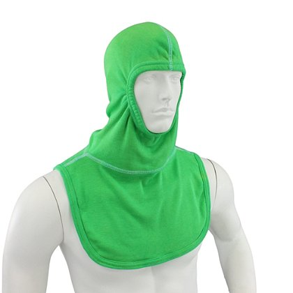 Majestic: PAC II Lime Green Hood, NFPA 1971-2013