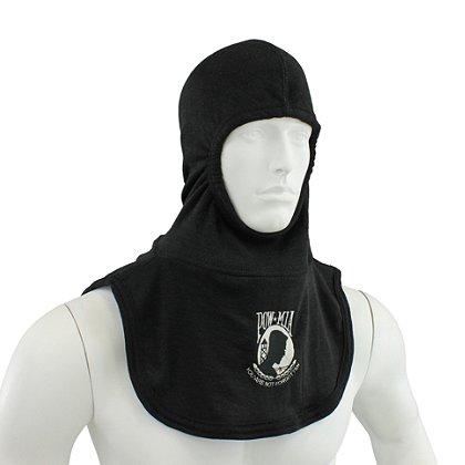 Majestic: PAC II 100% Nomex POW MIA Black Hood, NFPA 1971-2013