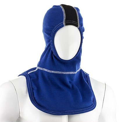 Majestic PAC-II-SVZ Strategic Vent Zone(SVZ) 100% Royal Blue Nomex Hood