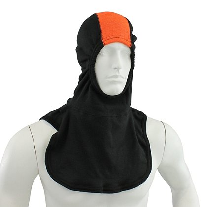 Majestic PAC II DS HOG Black Hood w/ Orange Strip, NFPA 1971-2013