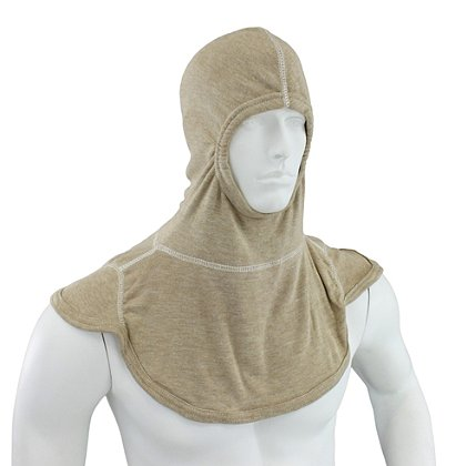Majestic PAC III PBI Lenzing Light Brown Hood, NFPA 1971-2013