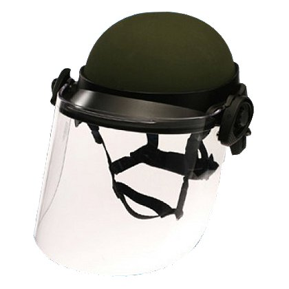 Paulson: DK6 Series Riot Face Shield
