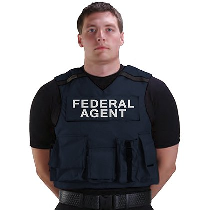 Point Blank: R20-FD Federal Agent Accessory Carrier with C-Series Ballistics