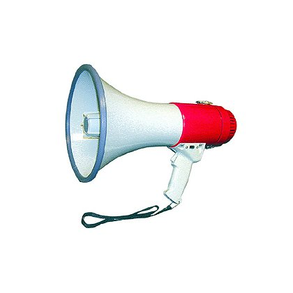 MG Electronics Megaphone, 25 Watts Piezo Dynamic Megaphone Louder, Longer Lasting, and Half the Weight