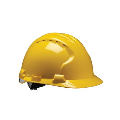 PIP: MK8 Evolution Hard Hat, Poly Strap Suspension with Impact Liner Ratchet Adjustment