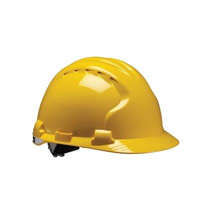 PIP MK8 Evolution Hard Hat, Poly Strap Suspension with Impact Liner Ratchet Adjustment