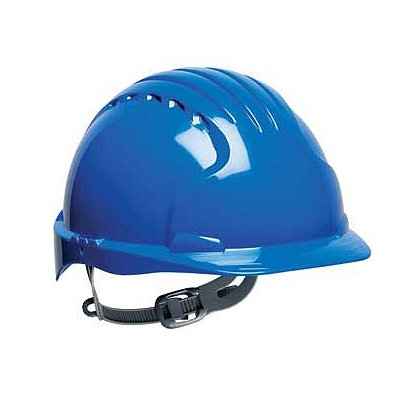 PIP Evolution Deluxe 6131 Hard Hat, 6-Point Poly Textile Suspension, Slip Ratchet Adjustment, Non-Vented, ANSI