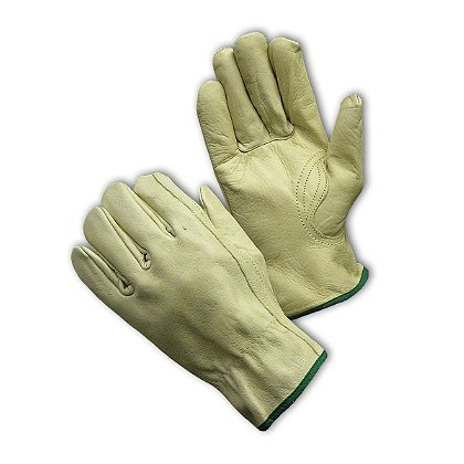 PIP Top Grain Cowhide Drivers' Glove, Keystone Thumb, Regular Grade