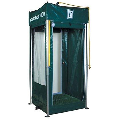 Hughes Safety Showers: Portadec1000 Portable Decontamination Shower