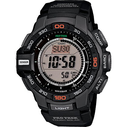 Casio: PRG270-1 Pro Trek Digital Watch, Triple Sensor
