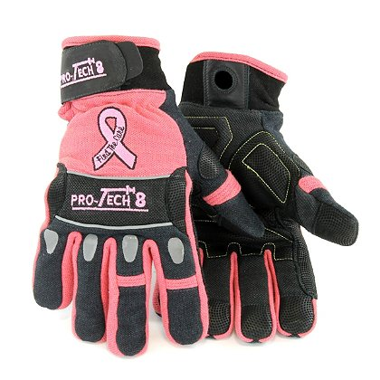 Pro-Tech 8: TheFireStore Exclusive X Plus Pink Extrication Glove with Pink Ribbon