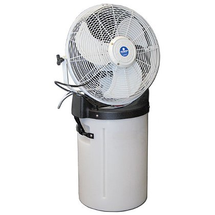 Schaefer 18 in. Misting Fan, with Pump and Cooler