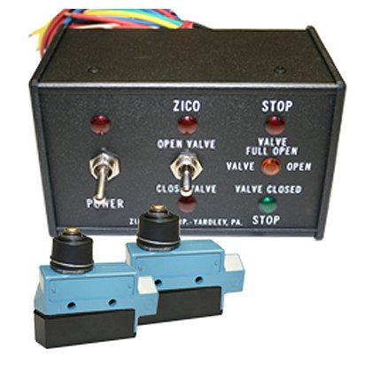 Zico 2070 Quic-Flow Dump Valve Control Panel Assembly with Two Micro Switches