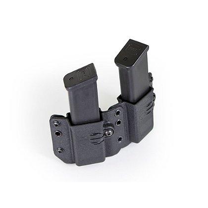 Raven Concealment: Copia Double Pistol Mag Carrier, Double Stack 9/40