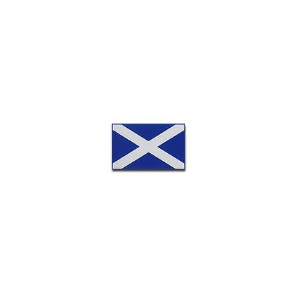 3DECAL: Scottish Flag Reflective Decal