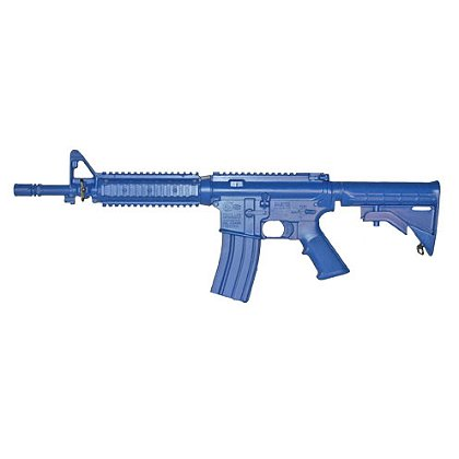 Ring's M4 COMMANDO Flat Top Closed Stock, Quad Rail Bluegun Firearm Simulator