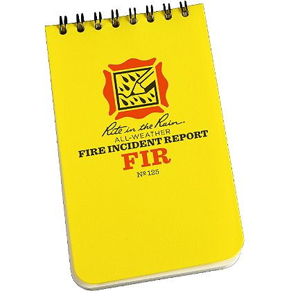 Rite in the Rain All-Weather Fire Incident Report Notebook
